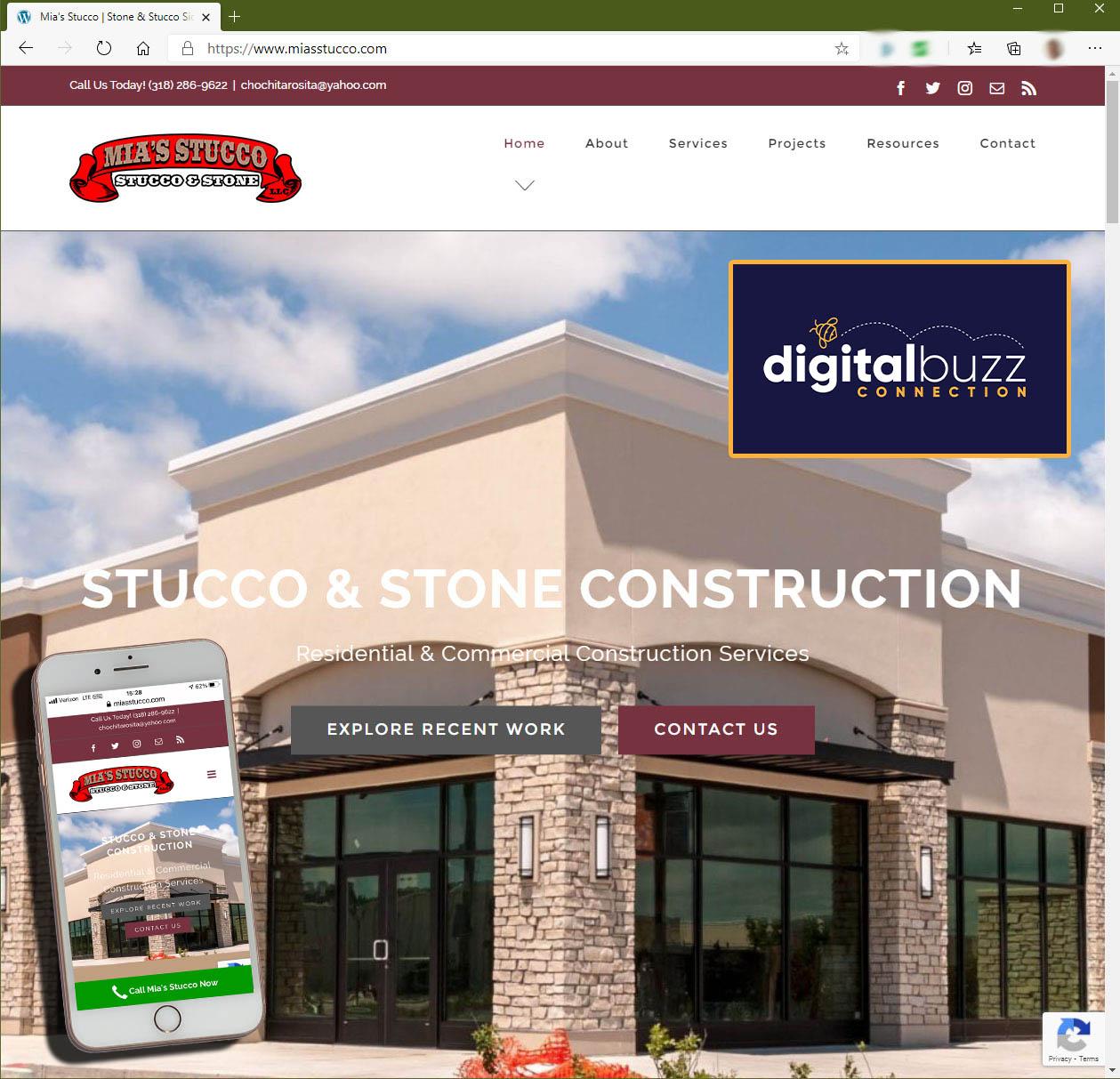 Mia's Stucco & Stone Construction